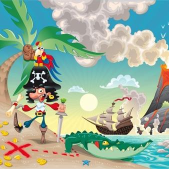 thema piraten kampthema